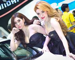 Bangkok MotorExpo 2014 (bangkok.charlie) Tags: sexy girl car asian thailand asia pretty bangkok impact thai motorcycle carshow 2014 pretties motorexpo