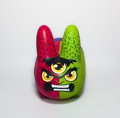 Hulk Labbit (WuzOne) Tags: toy diy geek collectible hulk custom marvel commission kozik avengers dunny arttoy labbit vinyltoy munny wuzone