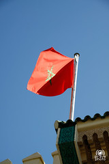 Bandiera sul Palazzo Reale (andrea.prave) Tags: flag flags morocco fez maroc bandera marocco flagge fes drapeau bandiere bandiera  almamlaka darelmakhzen   visitmorocco almaghribiyya tourdelmarocco