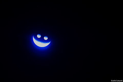 smile (it05h1) Tags: blue light moon nature japan night landscape view crescent moonlight nightview saitama crescentmoon it05h1