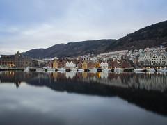 The Quay - Bryggen [Explored] (jp3g) Tags: wood old winter norway olympus bergen bryggen omd em5