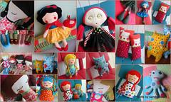 Bonecas 2014 (Crafts by Sandra Kecek) Tags: toy bonecas dolls handmade crafts decorao almofada