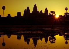 Angkor Wat Temple, Cambodia (photo_jfc) Tags: travel sunrise canon temple photography photo cambodia angkorwat adventure explore 5d