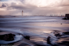 Swirling Seas (juliereynoldsphotography) Tags: new longexposure sea lighthouse landscape brighton wirral juliereynolds