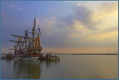 Schip De Batavia te Lelystad