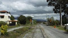 Estación del tren Machachi-Aloasí