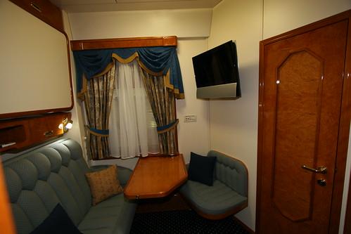 Russian private rail cars