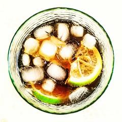 Bubbly... (D1.Xenotime) Tags: food macro ice lemon mix cola drink bubbles coke daily malibu clear cocktail alcohol bubble cocacola dinkability
