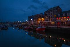 Barbican Nights (trevorhicks) Tags: sea night marina canon lights bars harbour plymouth barbican devon pubs tamron 6d