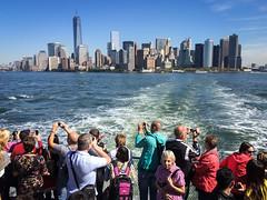 Click Click Click....... (Vibrimage) Tags: usa ny newyork glass america skyscrapers empirestatebuilding manhatten nineeleven freedomtower lowermanhatten