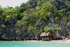 cottage and incoming tide,coron island,west philippine sea (larrygomez46) Tags: travel islands landscapes environment coron sanctuary palawan nationaltreasures nativecottages