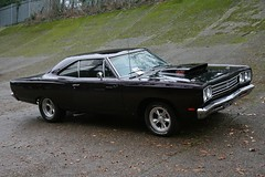 1969 Plymouth Road Runner (davocano) Tags: brooklands brooklandsnewyearsdaygathering cby421g newyearsdaygathering2015