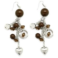 5th Avenue Brown Earrings P5310A-4