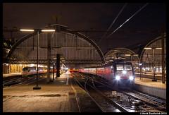 NS 189 289, Amsterdam 3-1-2015 (Henk Zwoferink) Tags: city amsterdam night ns siemens db line international munchen henk 189 419 289 emmerich cnl br189 es64f4 zwoferink