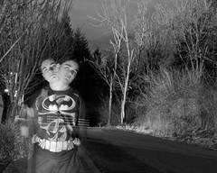 Two Headed Demon (joeeckroth) Tags: blackandwhite canon dark haunted creepy haunting manual nophotoshop longshutter canont3