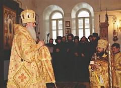 49. Еп. Амвросий (Поликопа) в Покровском храме 2000 г