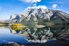 IMG_6290 (photoggigraphy) Tags: canada berg canon landscape outdoor banff landschaft lakeminnewanka