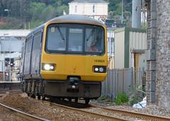 143603 Dawlish 2016 (The Great Innuendo) Tags: station great railway western warren voyager teignmouth dawlish sprinter 2016 railbus