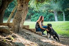 DSC_4151 (lauripiper) Tags: california park portrait woman dog girl mutt rottweiler pitbull amstaff americanstaffordshireterrier nikond810