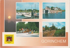 Ansichtkaart Gorinchem (Barry van Baalen) Tags: haven holland monument windmill harbour postcard molen windmolen ansicht gorinchem ansichtkaart