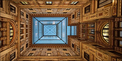 Looking up (Explore) (Bert Kaufmann) Tags: roof decorations italy rome roma art rooftop architecture italia kunst decoration ceiling explore rom architectuur plafond anac explored autoritnazionaleanticorruzione