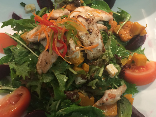 Chicken Feta Salad
