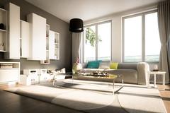 Living interieur 3 (Martin-Klein) Tags: living 3d cg dof bokeh interieur visualisation