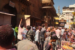 """Banke Bihari"" Temple, at Virandavan, Mathura (ilovethirdplanet) Tags: india festival temple crowd holi mathura ind uttarpradesh"