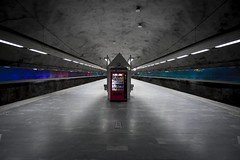 Bagarmossen (Larson.patrik) Tags: light metal subway cool fantastic silent candy sweden stockholm metallic