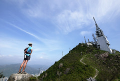 青山散步 (Steve only) Tags: panasonic lumix dmcg1 g vario 14714 asph 7144 714mm f4 m43 landscape sky cloud hiking people 行山 snaps