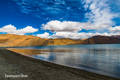 Pangong Tso lake, Ladakh, India (Parampreet Dhatt) Tags: blue india lake water landscape landscapes nikon tamron leh ladakh pangong waterscapes jammukashmir jammuandkashmir pangongtso incredibleindia tamron2470 nikond600 tamronsp2470mmf28divcusd
