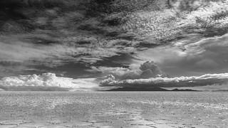 Cloudy salar