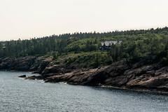 Home with a View (pooroldtim) Tags: ocean summer seascape color buildings landscape nikon rocks maine cliffs granite acadia seacoast 2803000mmf3556 nikond7100