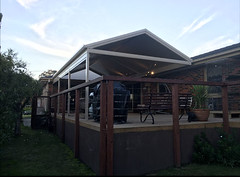 Statco clear span gable (modernsolutionsau) Tags: outback pergola stratco