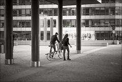 Leaving the Berlaymont (Johannes Wachter) Tags: brussels bike architecture rad eu bruxelles architektur brssel brussel fahrrad bycicle belgien sule