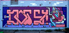 graffiti amsterdam (wojofoto) Tags: holland amsterdam graffiti nederland netherland ndsm dotsy wolfgangjosten wojofoto