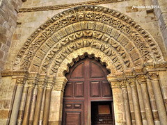 Zamora 05 Romnico, orfebres de la piedra (ferlomu) Tags: iglesia zamora portico romanico capitel ferlomu
