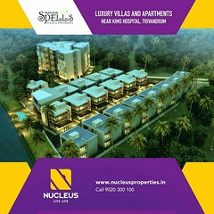 Quality blended with convenience, Nucleus Spells located near KIMS Hospital, Trivandrum have everything for a lifestyle of luxury!  Visit us on www.nucleusproperties.in   #Kerala #Trivandrum #India #DreamHome #Architecture #Home #Construction #City #Elega (nucleusproperties) Tags: life city india building home nature beautiful beauty architecture design living construction realestate view interior gorgeous lifestyle style kerala environment elegant exquisite comfort luxury trivandrum elegance dreamhome