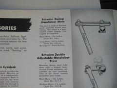 1948 Track Stem Schwinn Paramount (DMichaelM) Tags: 1948 stem track catalog schwinn paramount