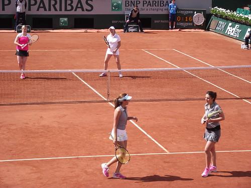 Anastasia Myskina - Roland Garros 2014 - Legends match