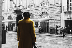 Woman in yellow (VladChiricescuPhotography) Tags: ocean show sanfrancisco seattle park street new old nyc newyorkcity uk trip travel trees light sunset red sea party summer portrait sky people italy music sun lake snow newyork paris macro tree london love me nature rock japan museum kids night river square landscape mexico thailand island photography tokyo la scotland photo spring spain model nikon san italia raw texas photos live taiwan squareformat iphone iphoneography instagramapp