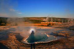 Yellowstone National Park (rocksandstones) Tags: show park circle solar is rainbow glory an national heads yellowstone around atmospheric phenomena optics