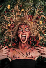 jsspphotographie (1) (jsspphotographie.com) Tags: painting body arts mimi stpierre collaboration avec lorie photographe hamel jeansbastien troisrivires cauchemare jsspphotographiecom