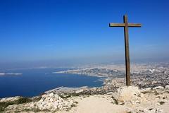 La Cit Phocenne, vue depuis Marseilleveyre (Bernard Bost) Tags: panorama canon marseille paca provence croix 2014 bouche