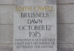 _MG_4340_edit (plw1053) Tags: brussels sculpture london monument statue war thought humanity documentary trafalgarsquare patriotism 1915 edith quotation cavell inscription londonstreets edithcavell canon600d plw1053 paullgwells