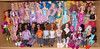 Barbies and Monster High  nov 14