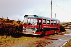 Highland T71 Unknown Outstation October 1981 (return2layerroad) Tags: scotland unknown willowbrook highlandomnibuses fordr1014 ust871l
