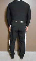 Authentic NFL officials pants with Under Armour long sleeve black shirt and Reebok NFL low grass shoes. (Football Officials Referee Uniforms) Tags: pink blue white man black game men jock up field grass hat leather yellow socks shirt fetish bag shoe back football belt clothing athletic referee official sock shoes uniform warm long day pants flat underwear head side low nfl think sunday under stripe super bowl bean line wear clothes compression briefs cap national short judge trousers shorts superbowl monday thursday sleeve turf whistle striped league penalty pinstripe pregame umpire reebok lanyard pinstriping officials linesman