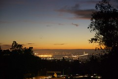 SF Giants Win 2014 Division Series Game 4 DSC_0257 (wbaiv) Tags: city bridge lights bay twilight san francisco dusk sanfranciscobayarea area western giants eastern span pacbellpark nightgame yerbabuenaisland