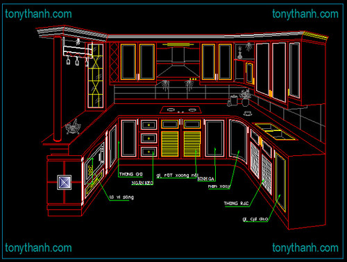 3d Kitchen Blocks Cad Of Cabinet With Full Layout Elevation Bar Counter Dwg Autocad Drawing A Photo On Flickriver